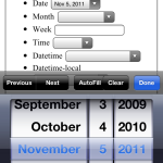 iOS 5 Safari HTML5 native date picker