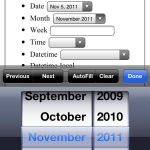 iOS 5 Safari HTML5 native month picker