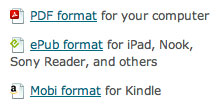 E-book icons example