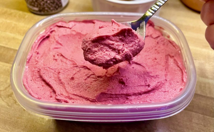 Tart Cranberry Ice Cream